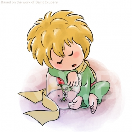 le pettit prince, little prince, rose, the little prince