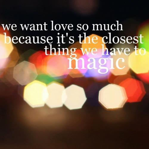 love, magic, sentence, text