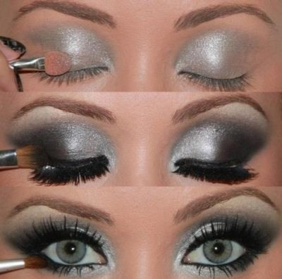 make up tutorial, makeup, smokey eyes