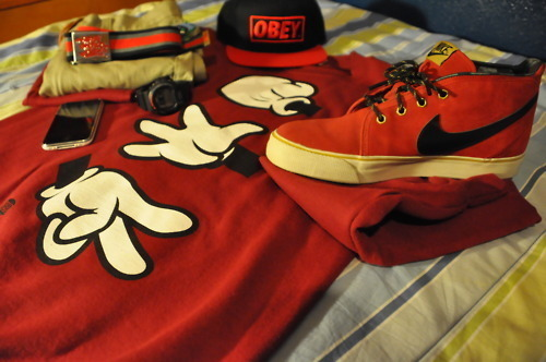 nike, obey, swag