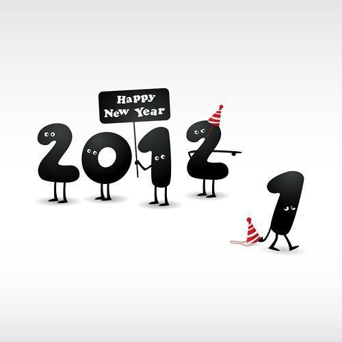 2012, funny, goodbye, happy new year, new year
