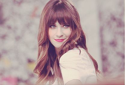 500 days with summer, blue eyes, celebrity, cute, girl, hair, pretty, red lips, summer, zooey deschanel
