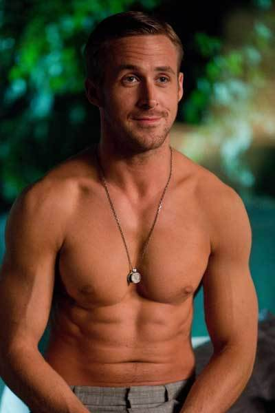abs, boy, ryan gosling, sexy