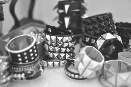 acessorie, acessories, alternative, b&w, black and white