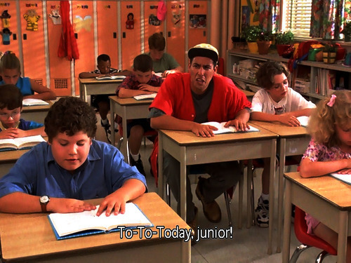 adam sandler, billy madison, funny, junior, movie stills