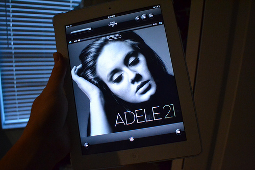 adele, apple, art, beautiful, black