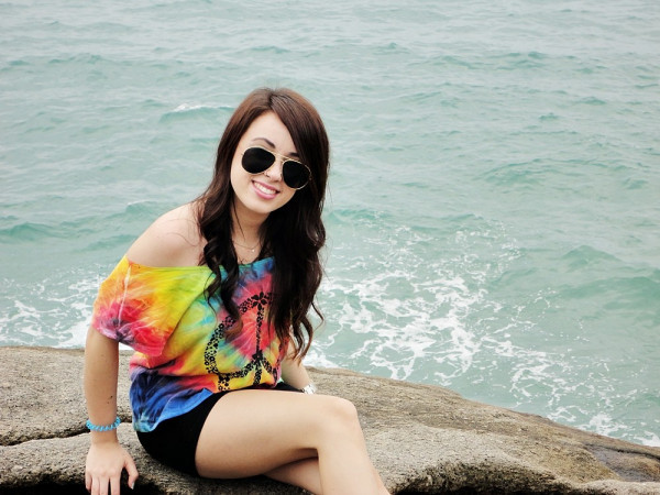 agatha braga, beach, fashion, girl, hippie