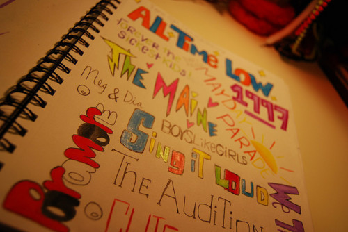 all time low, bands, boys like girls, mayday parade, paramore, sing it loud, the audition, the maine