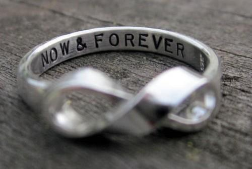 always, forever, infinity, now, now and forever