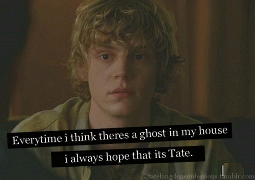 american horror story, evan peters, tate langdon