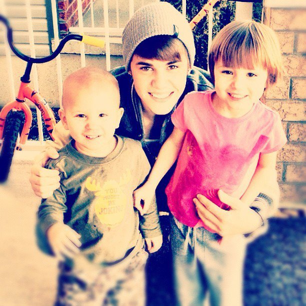 amoroso, bieber, brother, cute, familia