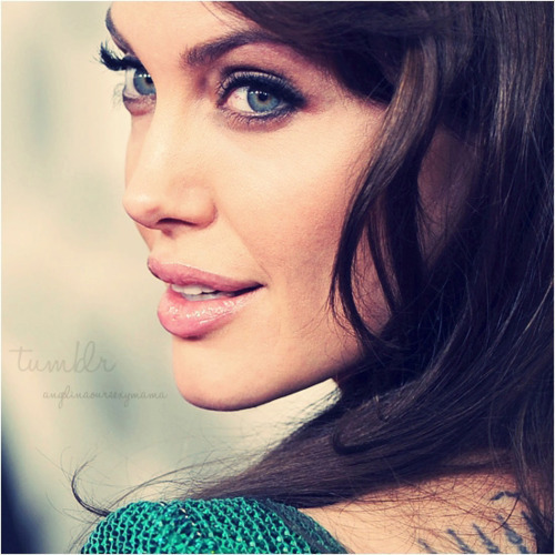 angelina jolie, beautiful, dress, eyes, gorgeous, green, lips, tattoo