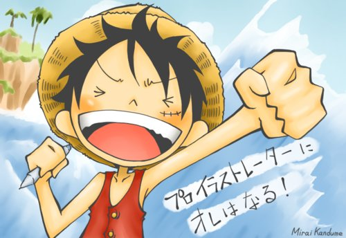 anime ew, art, luffy, one piece