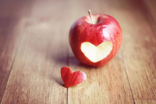 apple, cute, love, nature, pure