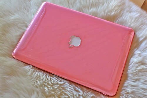 apple, dead, laptop, mac, pink