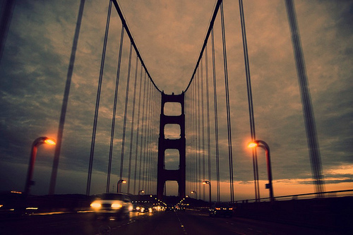 architecture, beautiful, bridge, cars, city