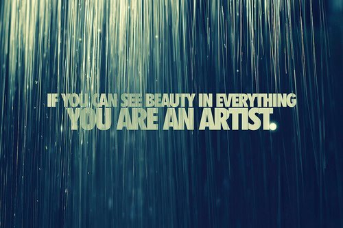 art, beauty, quote