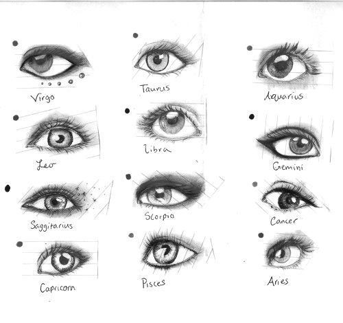 how to draw really good eyes
