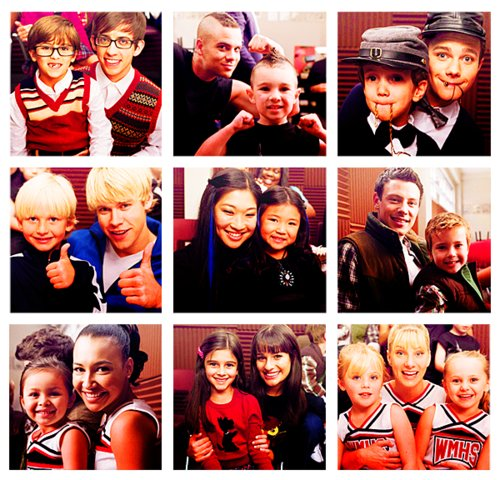 artie abrams, brittany pierce, child, chord overstreet, chris colfer