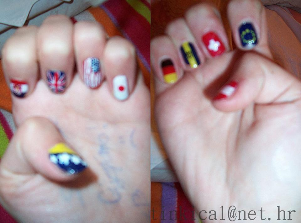 austrija, barbados, bosnia and herzegovina, coloures, country nails