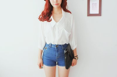 awesome, bag, bottom, cute, fashion, girl, girls, photography, purse, shirt, short, shorts, swag, top, white shirt, white top, woman, women