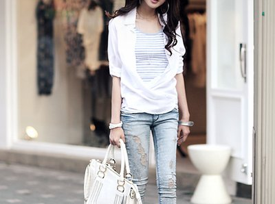 bag, beautiful, brunette, clothes, fashion