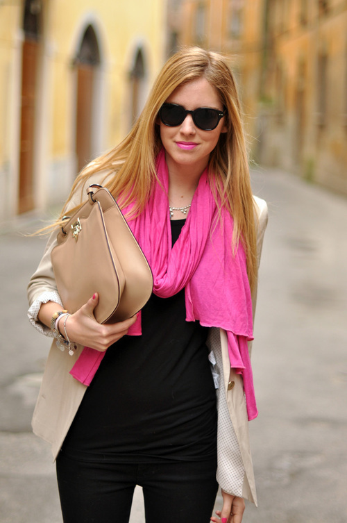 bag, blonde, chic, cool, cute, fashion, girl, lipgloss, lips, pink