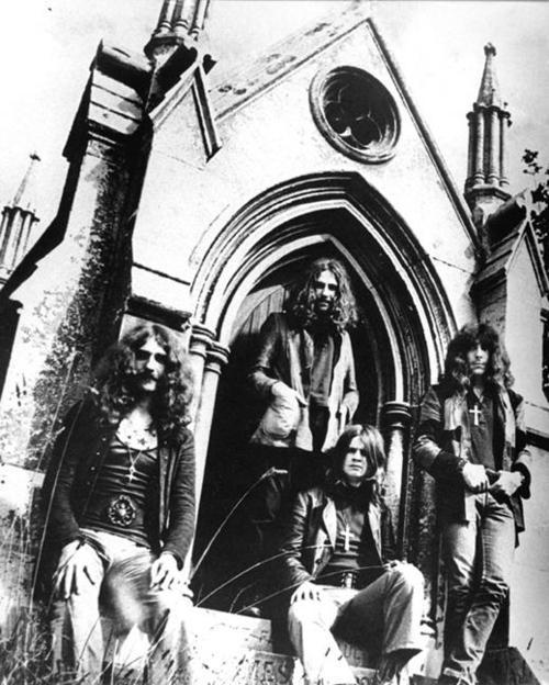 b&amp;w, black, black and white, black sabbath, church