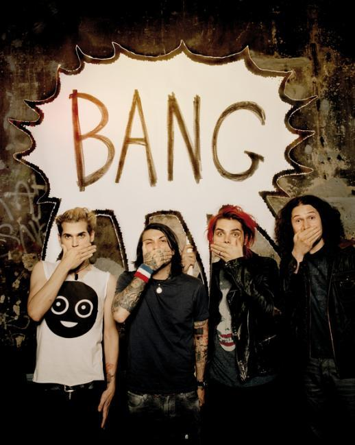 bang, danger days, frank iero, gerard way, mcr