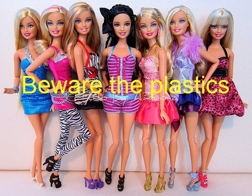 barbie, beauty, beware, cute, fake, girl, plastics, pretty, real, the