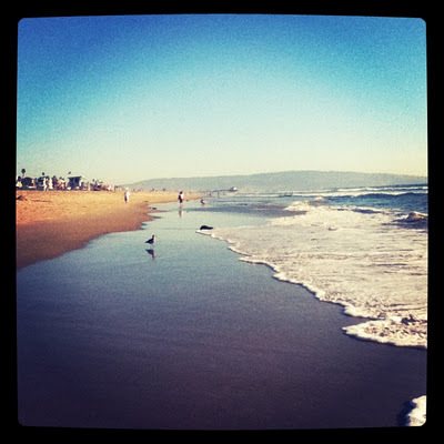 beach, california, manhatten beach, sand, summer