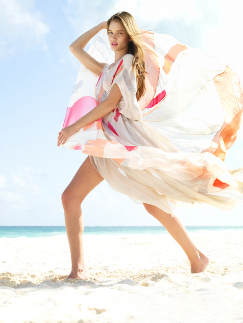 beach, dress, editorials, fashion, girl