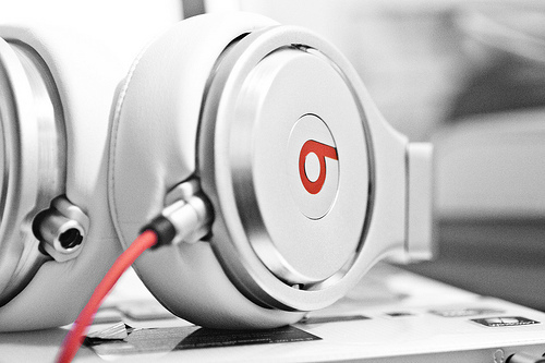 beats, headphones, music, photography, white