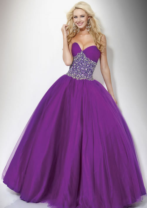 beautiful, beauty, blond, blonde, cute, dress, girl, love, pretty, prom, prom dress, purple