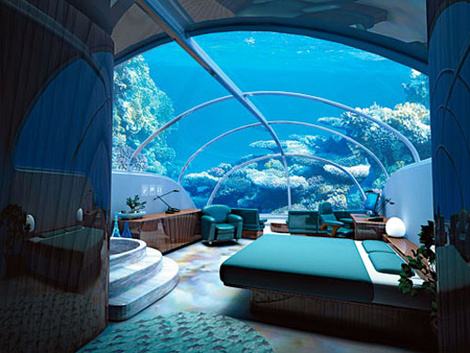 beautiful, bed, bedroom, blue, corals