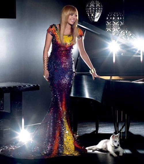 beautiful, beyonce, cyrus, demi lovato, dogs