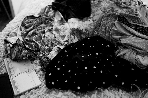 beautiful, black, black and white, clothes, cute