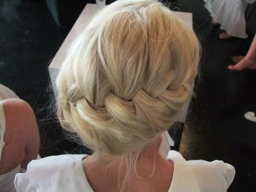 beautiful, blond, blonde, bridal, bride, bun, cute, fashion, fashionista, hair, hairstyle, hot, kiss, love, pretty, style
