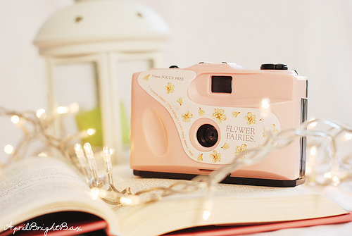 beautiful, book, camera, cute, fashion