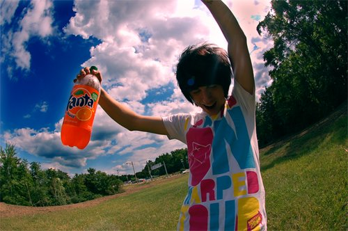 beautiful, boy, cute, delicious, fanta, food, guy, handsome, happy, man, norwegian soda, photo, photograph, photography, soda