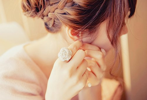 beautiful, braid, face, fashion, girl, hair, photography, pretty, ring, style