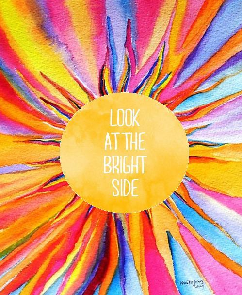 beautiful, bright, bright side, colourful, colours, inspiration, positive