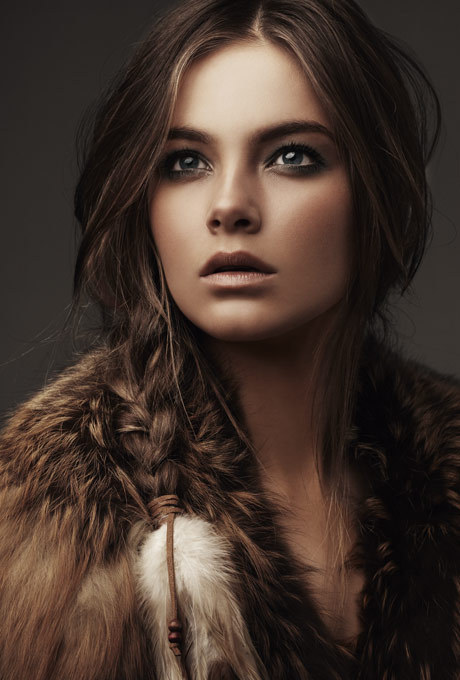beautiful, brown hair, brunette, fashion, girl - image #341669 on ...