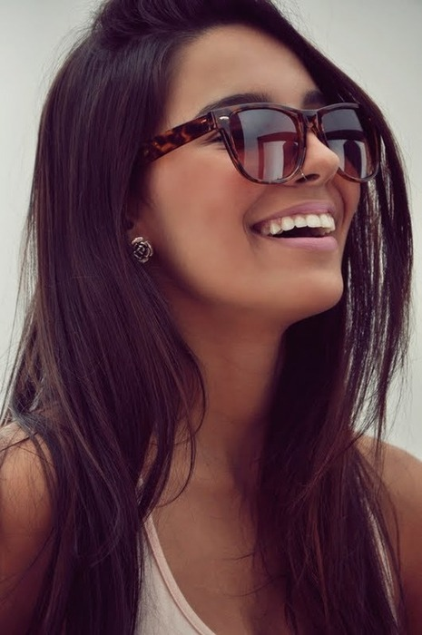 beautiful, brown hair, brunette, model, pretty, ray bans, stunning, tanned