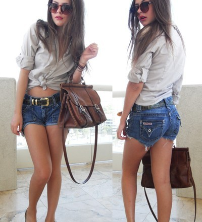 beautiful, brunette, clothes, fashion, girl, hair, heels, jeans, models, outfit, photo, red, red lips, shoes, shorts, trendy, women