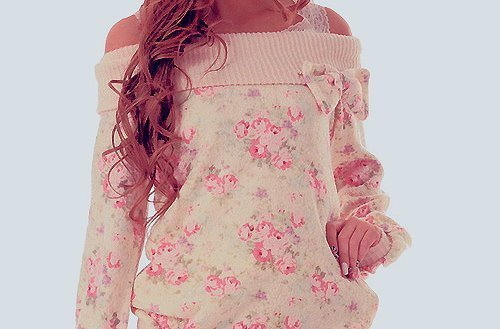 beautiful, clothes, fashion, floral, girl