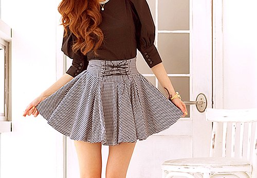 beautiful, clothes, fashion, girl, hair, outfit, pretty, skirt, style