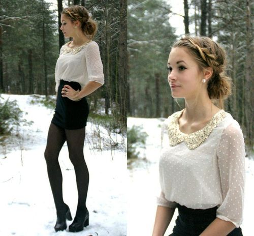 beautiful, clothes, fashion, photography, snow, style