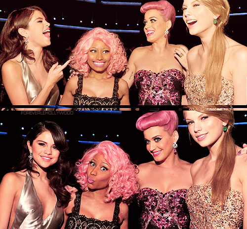 beautiful, cute, katy perry, nicki minaj, pink hair