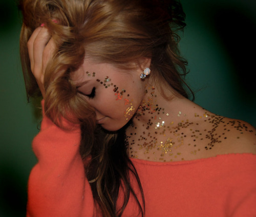 beautiful, face, girl, glitter, gorgeous, hair, pink, shirt, style, sweater